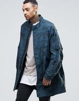Asos Lightweight Parka Jacket In Camo Print