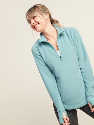 Old Navy Go-Warm Micro Performance Fleece 1/4-Zip Sweatshirt for Women