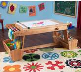 Kid Kraft Drying Rack & Storage Art Table
