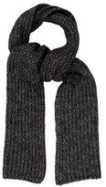 Zadig & Voltaire Metallic Knit Scarf