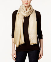 MICHAEL Michael Kors Pin Dot Logo Scarf, Only at Macy's
