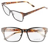 L.A.M.B. Women's 53Mm Optical Square Glasses - Black
