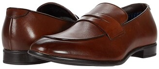 Steve Madden Masin (Cognac Leather) Men's Shoes