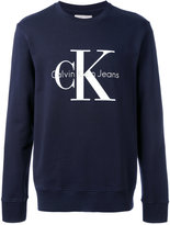 Calvin Klein Jeans branded jumper - men - Cotton - M