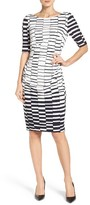 Vince Camuto Women's Ruched Body-Con Dress