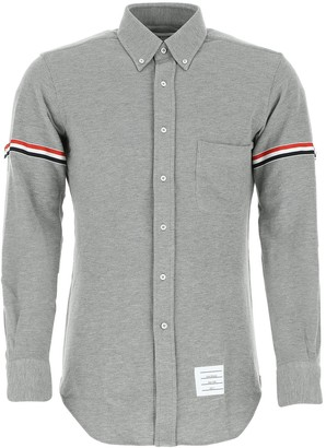 Thom Browne RWB Stripe Fitted Shirt