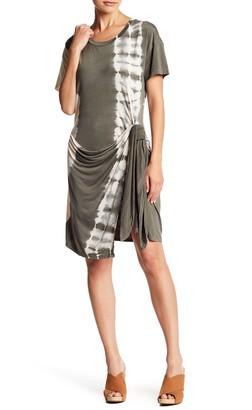 Young Fabulous & Broke Pamela Wrap Waist Tie Dye Dress