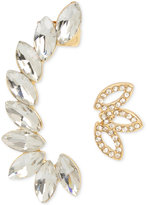 INC International Concepts M. Haskell for Gold-Tone Crystal Crawler and Post Earring Set, Only at Macy's
