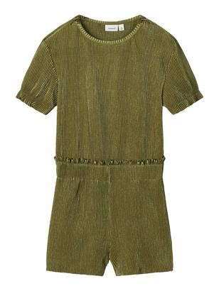 Name It Girl's Nkfdiluca Ss Shorts Suit Dress