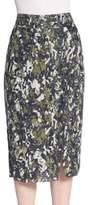 Jason Wu Beaded Pencil Skirt