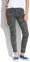 Camo Skinny Skinny Ankle Jeans in