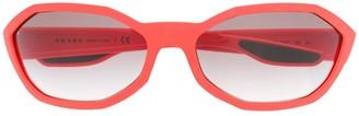Prada Angled Frame Sunglasses