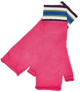 Thumbnail for your product : MG Rivers - Fuchsia Pink Extrafine Merino Fingerless Gloves