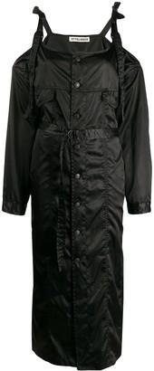 Ottolinger Off-The-Shoulder Trench Coat