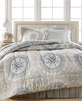 Sunham Aidan 8-Pc. Reversible Queen Bedding Ensemble
