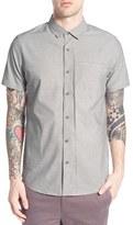 Tavik Uncle Trim Fit Dobby Woven Shirt