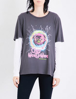 Obey End of World Tour cotton-jersey T-shirt
