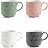 Marks and Spencer Tribeca Set of 4 Textured Mugs