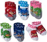 Toddler Girl PJ Masks Owlette, Catboy & Gekko 6-pk. Socks