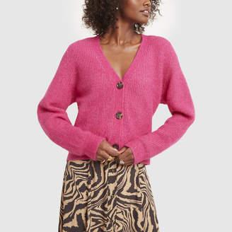 Ganni Soft Wool Cardigan