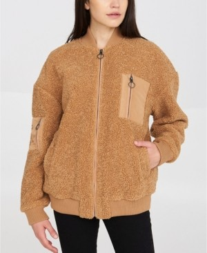 MONICA Bench Urbanwear Sherpa Bomber