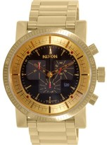 Nixon NEW Magnacon II Chrono SS Gold Black | AUTHORIZED DEALER | A457510