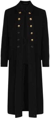 Yohji Yamamoto Military long coat