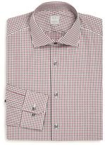 Ike Behar Regular-Fit Gingham Dress Shirt