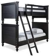 Harriet Bee Chassidy All American Wood Frame Bunk Bed