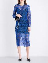 Diane von Furstenberg Tailored tulle midi dress