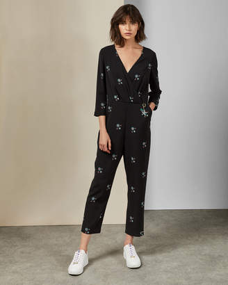 Ted Baker DUASBA Midnight sun jumpsuit