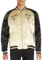 Standard Issue NYC Tiger Souvenir Embroidered Varsity Jacket