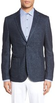 Sand Men's Two Button Knit Blazer
