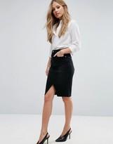 Vero Moda Midi Denim Skirt