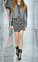 Antonio Berardi Leopard Camouflage Dress