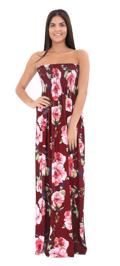 787490ad4a0 Plus Size Strapless Maxi Dress - ShopStyle Canada