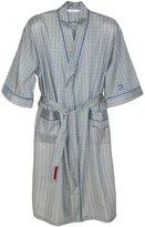 Robert Graham Men's Cotton Sateen Ostra Robe