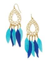 BaubleBar Dreamcatcher Drops-Cobalt/Turquoise