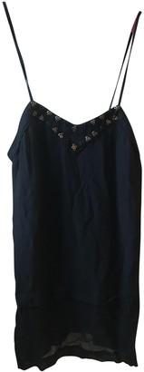 Heimstone Navy Silk Dresses
