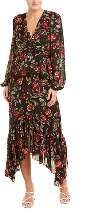 A.L.C. Stanwyck Silk Maxi Dress