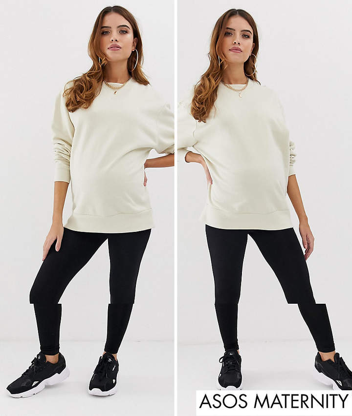 5836138fcd58b Asos Maternity Trousers - ShopStyle UK