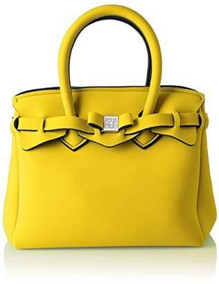 save my bag Women's 10104N-LY-TU Top-Handle Bag Yellow