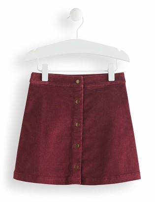 Amazon Brand - RED WAGON Girl's Cord A-Line Skirt