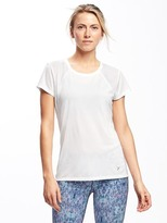 Old Navy Go-Dry Cool Mesh Running Tee for Women