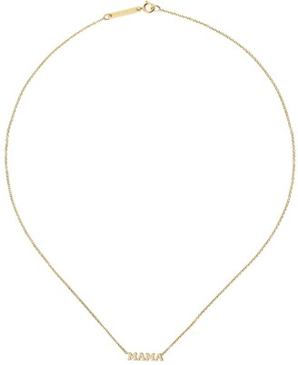 Zoë Chicco 14kt yellow gold Mama necklace
