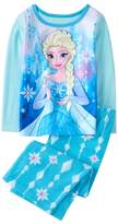 Crazy 8 Frozen Fuzzy 2-Piece Pajama Set