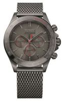 Hugo Boss 1513443 Chronograph Tachymeter Stainless Steel Strap Watch One Size Assorted-Pre-Pack