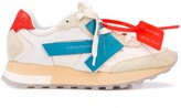 Off-White Off White suede detailed Runner sneakers