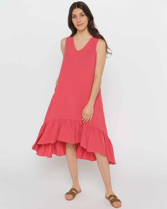 Privilege Women's Pink Dresses - Willow Dress - Size One Size, 14 at The Iconic