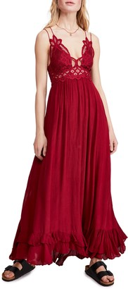 Free People Adella Maxi Slipdress